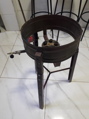 fritador pasteleiro profissional a gás