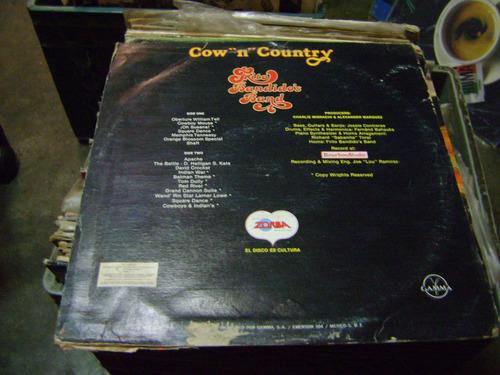 frito bandidos band cow n country 33 rpm nacional