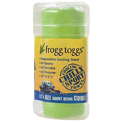 frogg toggs deporte frío, hi-vis verde-one size, one size