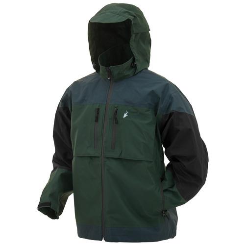 frogg toggs toadz anura chaqueta - xxlarge bosque verde