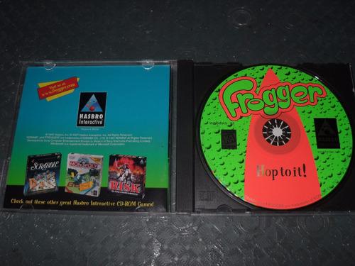 frogger juego para pc hasbro original en excelentes condicio