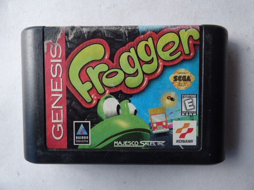 frogger sega genesis zonagamz
