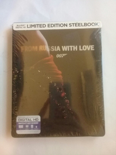 from russia with love 007 blu ray limited edition steelbook