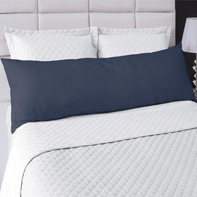 Fronha Avulsa P/ Travesseiro Corpo 0,50x1,50 Percal C/ Ziper