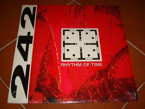 front 242 rhythm of time vinil 12 pulgadas sellado
