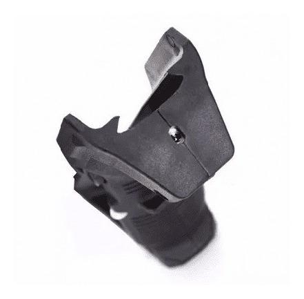 front hand grip angular laser aeg airsoft preto ou coyote