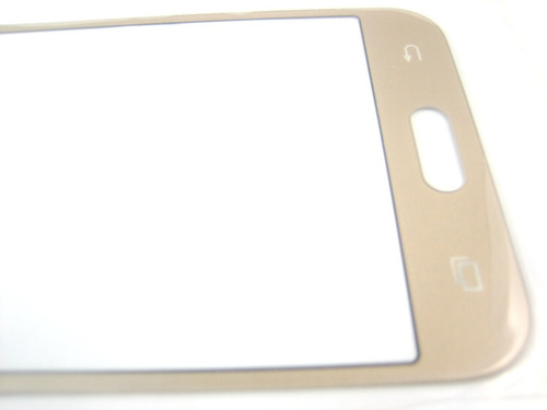 front outer glass lens samsung galaxy j2 sm-j200~gold