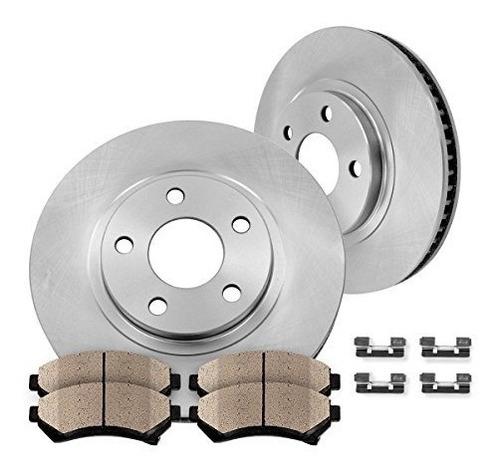 front premium oe 295.8mm rotores [2] + [4] quiet bajo polvo