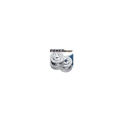 [front rear] rotores de freno con ranura transversal powersp