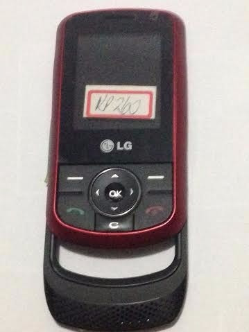 frontal carcaça lg kp260 com lcd + slider flex e teclado sup
