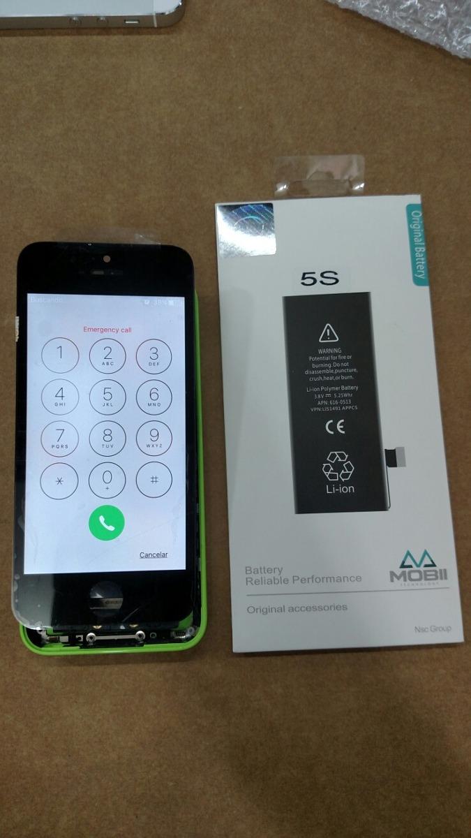 33f2ed7413b frontal iphone 5 c+ bateria original testada envio imediato. Carregando zoom .