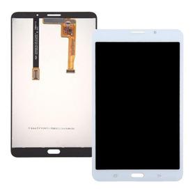 Frontal Lcd Display Touch Screen Sans Tab A Sm T280 7 Polegadas + Película De Vidro Aplicada
