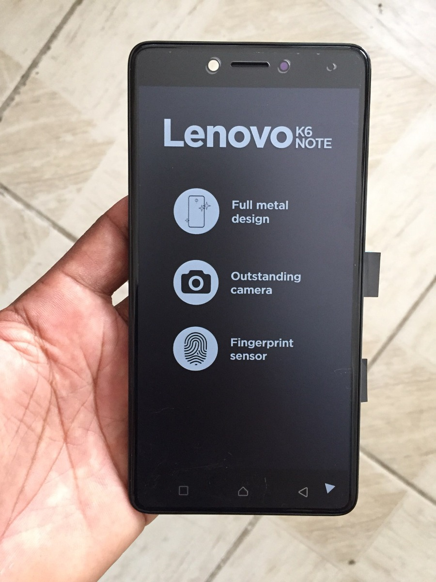 Frontal Lenovo K6 Note Plus 100% Original