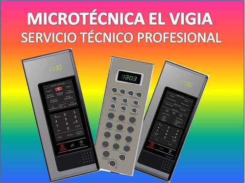frontal microondas y membrana de teclado  microtecnica