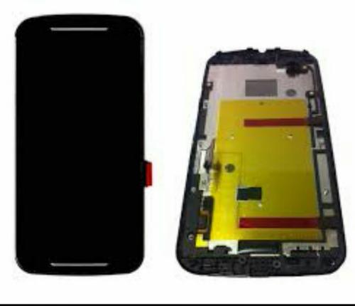 frontal modulo tela display moto g 2 frete grátis