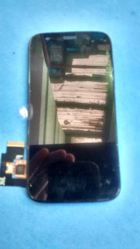 frontal moto g  completa + pelicula vidro