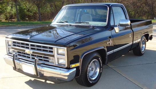 Frontal Pickup Chevrolet A 241 O 81 Al 88 Modelo 4 Faro Bs