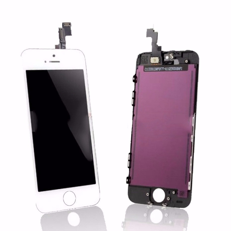 4ad6008642b Frontal Vidro Touch Screen Display Lcd Iphone 5c Branco - R$ 80,79 ...