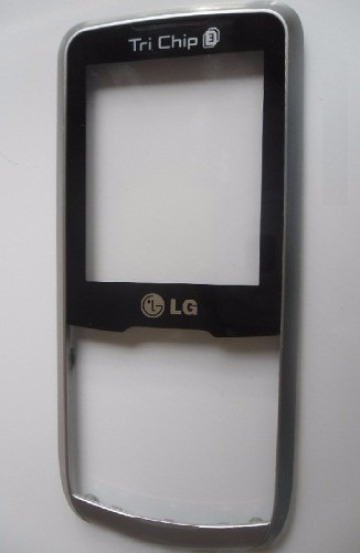 frontal visor da carcaça lg a290 tri chip original prata
