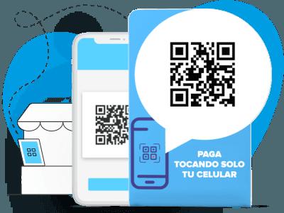 Cobros digitales sin contacto en los que tus clientes pagan con su celular.