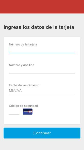 Encabezado personalizado Mercado Pago Web Tokenize Checkout
