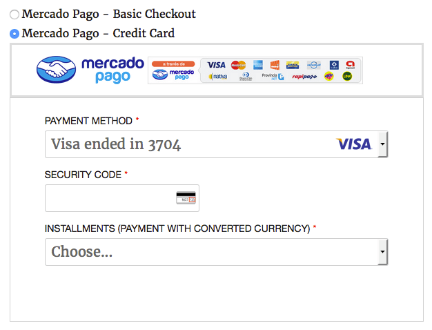 One Click Payment