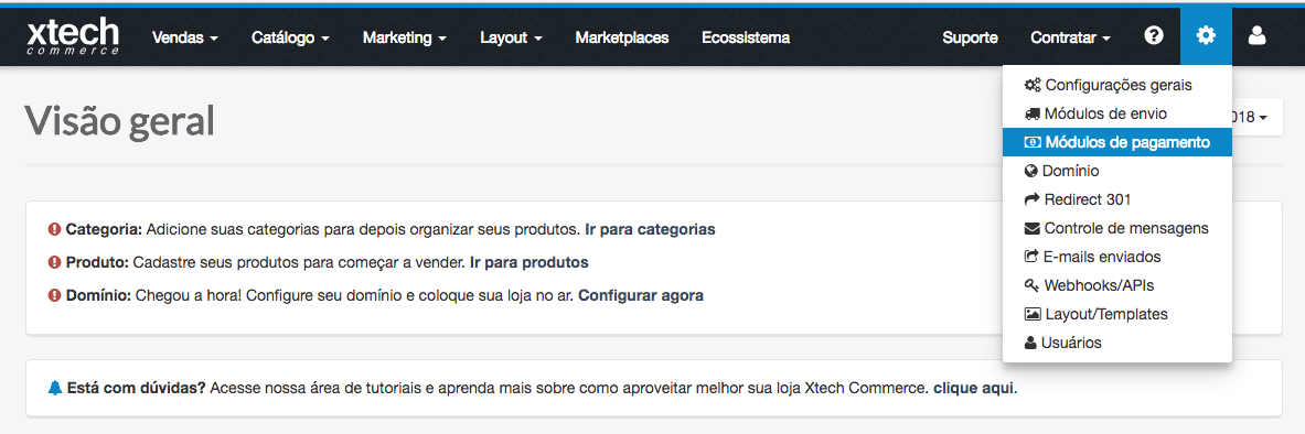 Enabling Mercado Pago in Xtech