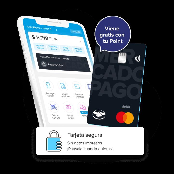 Haz todo con tu cuenta y la tarjeta MercadoPago