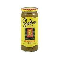 frontera foods inc. salsa, tomatillo, mediano, 16 onzas