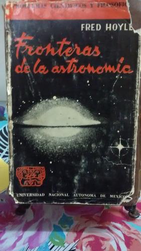 fronteras de la astronomía // fred hoyle
