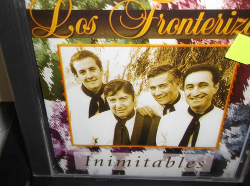 fronterizos inimitables cd sellado