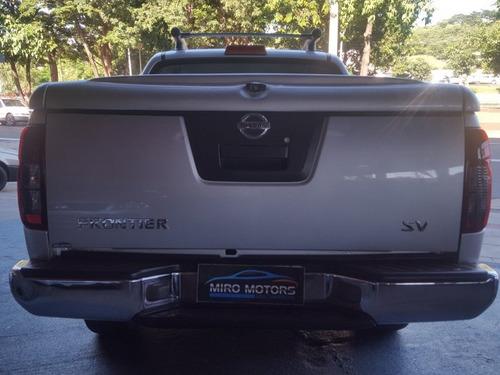 frontier 2.5 sv attack 4x2 cd turbo eletronic diesel 4p m...
