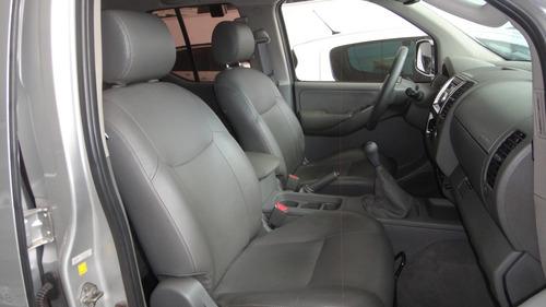 frontier cd le 4x4 diesel 2010, pneus novos, couro, placa a