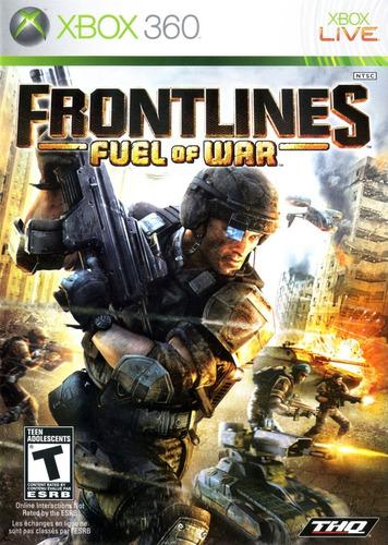 frontlines fuel of war - xbox 360 - usado
