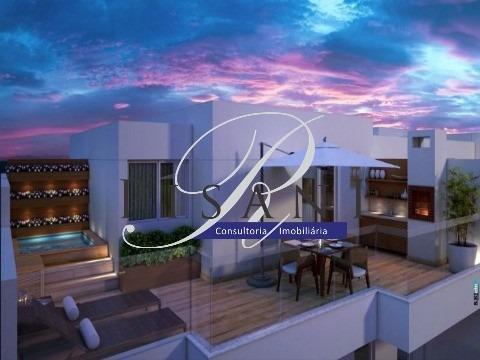 frontpark, apartamento gardem, 2 quartos (1 suite), total lazer - ap01542