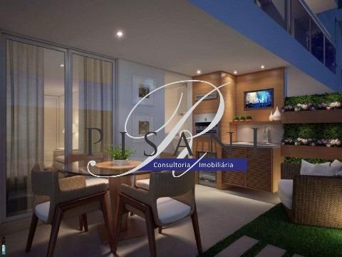 frontpark, apartamento gardem, 2 quartos (1 suite), total lazer - ap01598