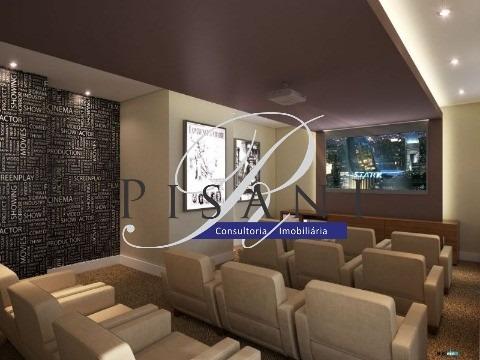 frontpark, apartamento gardem, 3 quartos (1 suite), total lazer - ap01599