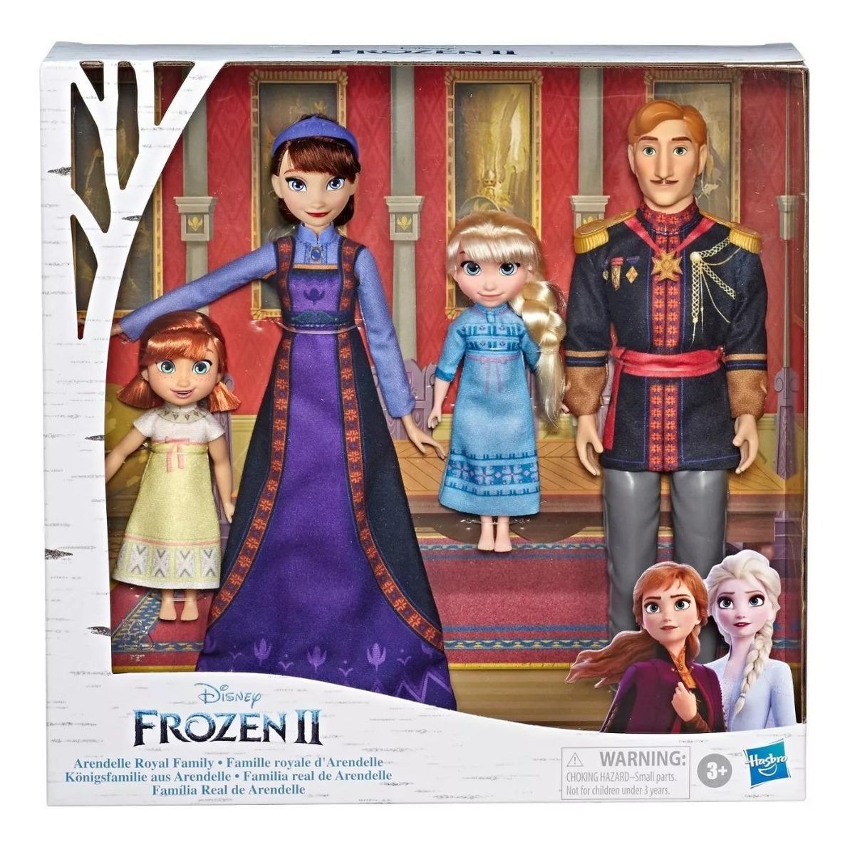 Frozen 2 Figuras Familia Real Arendelle Elsa Y Ana Y Papas