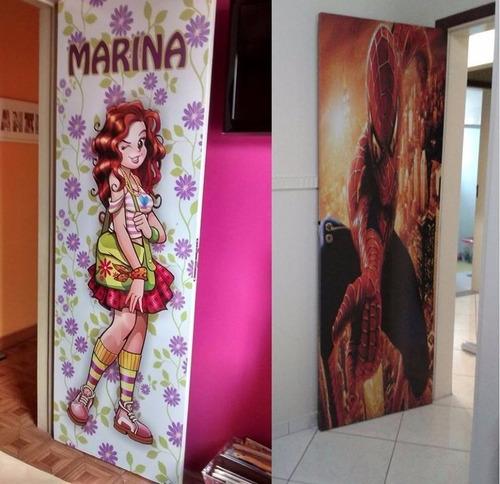 frozen - adesivos decoração para portas