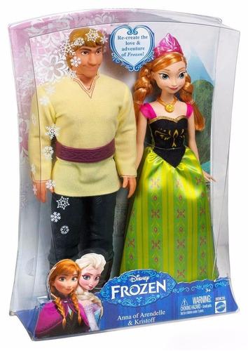 frozen anna & kristoff