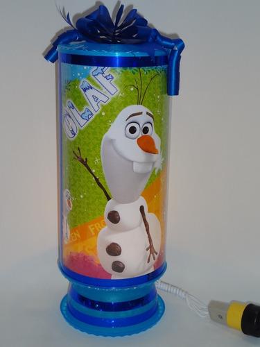 frozen centros de mesa 15+1 de regalo  16lámparas 38cm envio