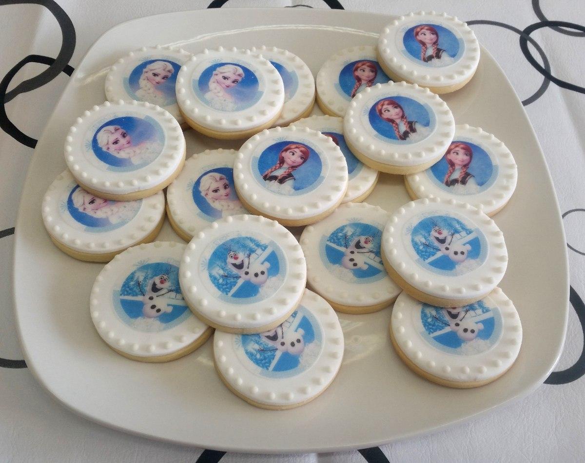 Frozen Cookies Galletitas Decoradas Con Imagen Comestible