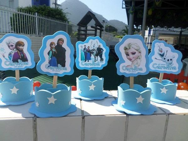 Frozen Dora Peppa Princesas 30 Lembrancinhas R 8970 Em Mercado