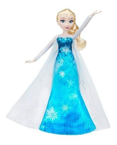 frozen elsa muñeca melodia y luz c0455as00