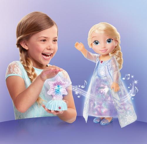 frozen muñeca electrónica elsa auroras boreales, 16