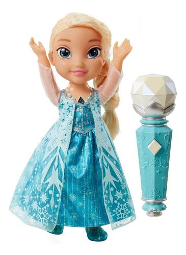 frozen muñeca electrónica elsa canta conmigo 16 pulgadas