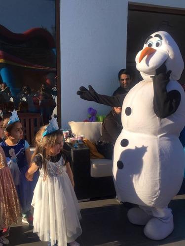 frozen, peppa, moana show animación cumpleaños infantiles