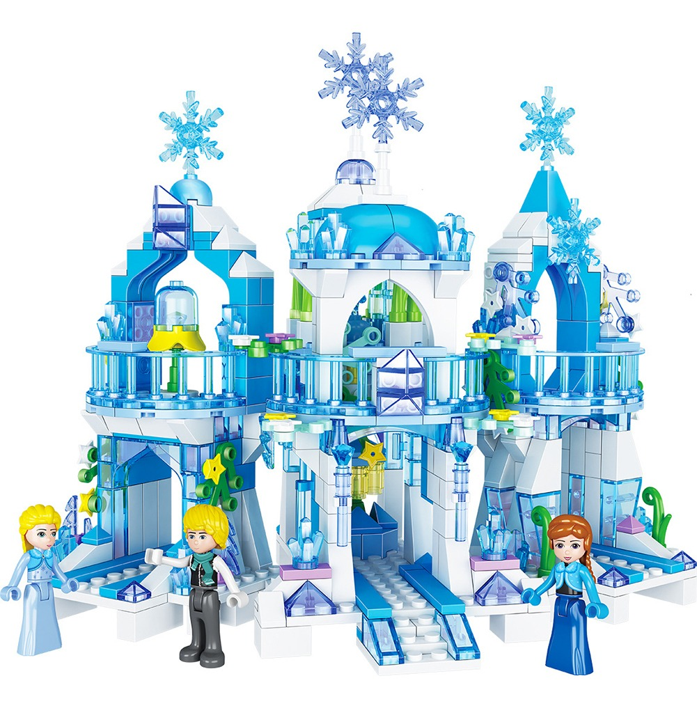 Frozen Princess Rainha Da Neve Castelo De Gelo Figuras De Ne R