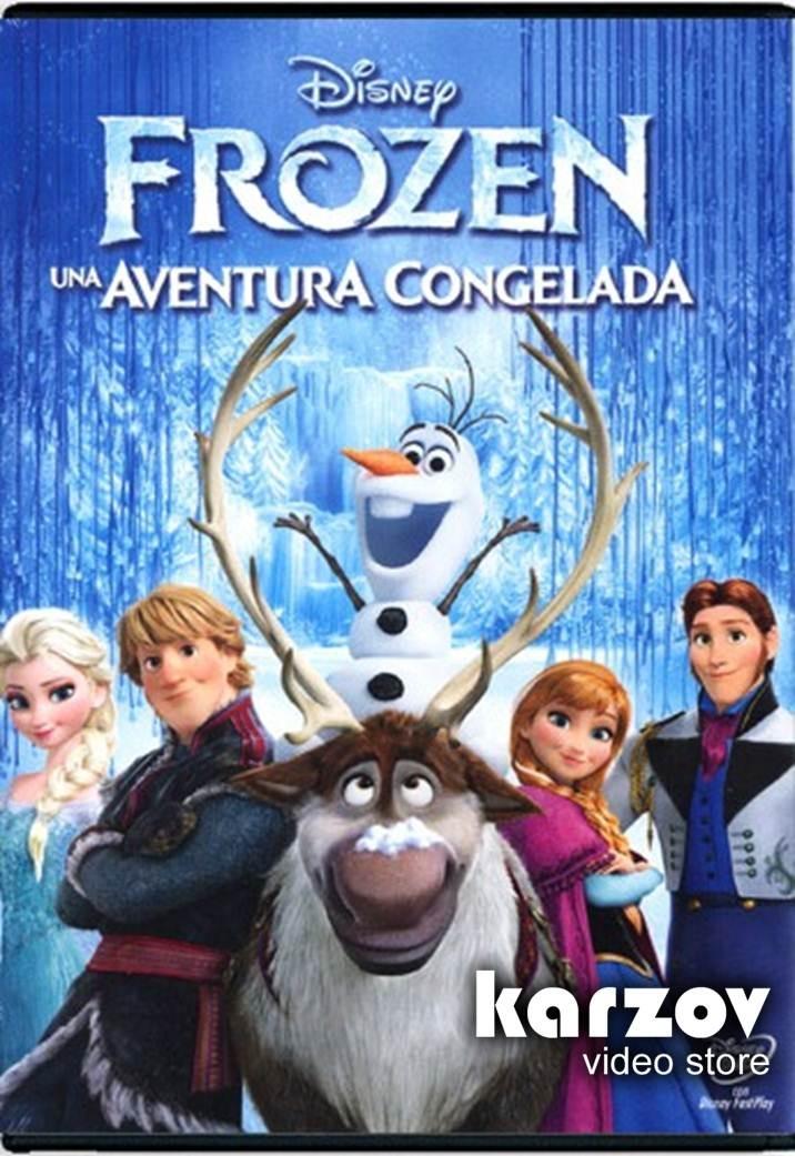 Frozen Una Aventura Congelada La Pelicula En Dvd - $ 169.00 en ...