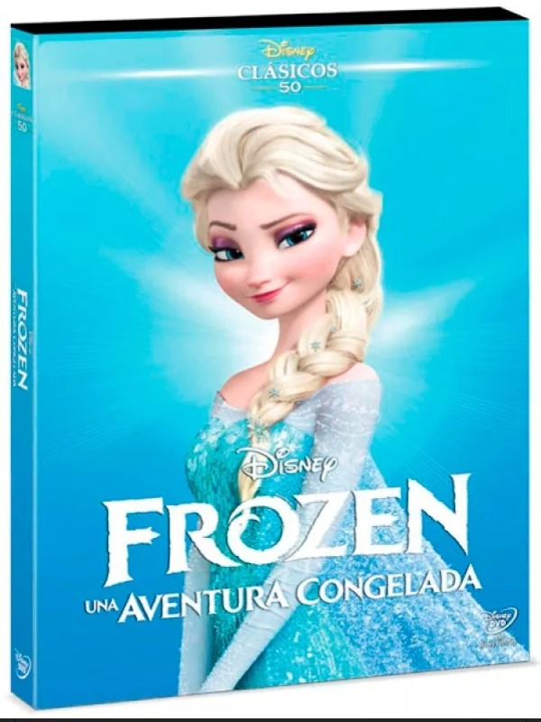 Frozen, Una Aventura Congelada. Película Dvd Edición 2018 - $ 248.00 ...